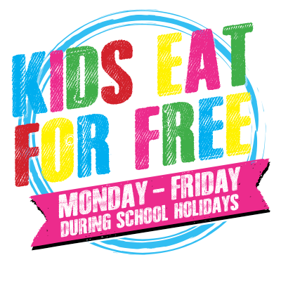 Commercial Kids eat free button